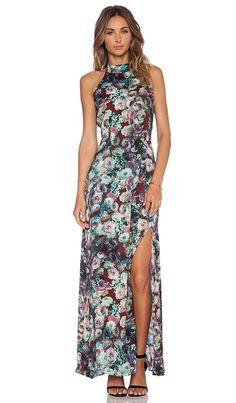 Tularosa x REVOLVE Brooke Maxi Dress in Midnight Floral | REVOLVE