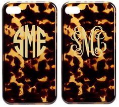 Tortoise Shell iPhone Case-