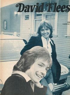 🎼DAVID CASSIDY pinup – 2 different smiling poses!