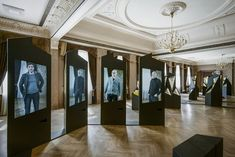 Lsx20 multimedia exhibition by H2E, Riga - Latvia