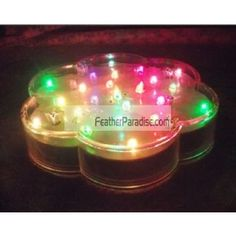 LED Undervase Light Bases wedding centerpieces light wholesale discount cheap bulk dozen