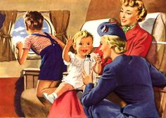 It's Not Hard to Take the Children So Far! jigsaw puzzle in Aviation puzzles on TheJigsawPuzzles.com