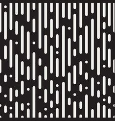 Black and white irregular rounded dashed lines Vector Image Coffee Table Frame, Web Design, Graphic Design, Black And White Abstract, Single Image, Graphic Patterns, Abstract Backgrounds, Vector Free, Illustration