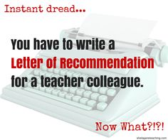 Are you a teacher who needs to write a letter of recommendation for a student teacher, substitute, or colleague?  Overwhelmed by the idea and not sure if you are qualified?  This post takes you through the letter of recommendation process step-by-step.  There is even a blank recommendation!  So many great tips.  Letter of Rec have never been so easy!