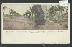MANILA - MALACON DRIVE, VIEW OF PLAZA DE LOS MORTALLES - MANILA PI - (17349) (Postales - Postales Extranjero - Asia - Filipinas)