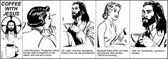humorous take on Jesus being with you