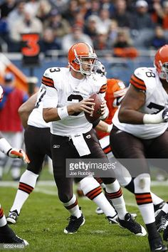3f909cb593c9 Derek Anderson of the Cleveland Browns looks to pass the football against  the Chicago Bears at