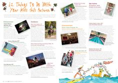 """""""12 Things To Do With Your Kids This Autumn"""" - Article commission for Bupa Cromwell Hospital's new health and lifestyle magazine """"Health etc."""" - Child friendly destinations in Kensington and Chelsea, London"""