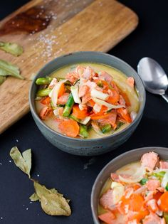 Thai inspired salmon asparagus bowl AIP/Paleo