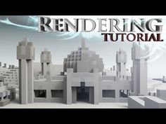 How to render Minecraft Builds - the simple way! - YouTube