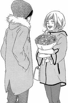 Ao Haru Ride - Kou and Futaba Best Shoujo Manga, Manga Anime, Anime Art, Futaba Yoshioka, Futaba Y Kou, Miraculous, Ao Haru Ride Kou, Best Romance Anime, Blue Springs Ride