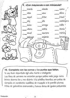 Spanish Grammar, Teaching Spanish, Spanish Language, Spanish Lessons For Kids, Grammar Exercises, First Grade Worksheets, School Classroom, Classroom Ideas, English Class
