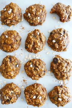 Sweet Potato Recovery Cookies - a delicious way to refuel after exercise. Also good for a snack, dessert or breakfast! | itsavegworldafterall.com