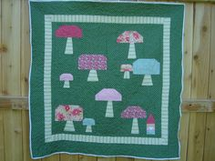 Gnome Meadows Baby Quilt PDF Pattern