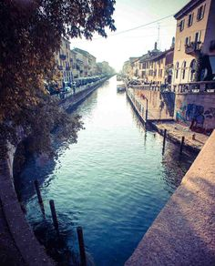 Navigli in Milan Travel Around The World, Around The Worlds, Milanesa, Like A Local, Planet Earth, Beautiful Places, Europe, Towers, Events