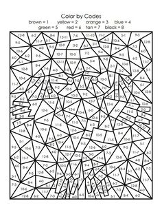 10 Maths Colouring Sheets Maths Colouring Sheets The youngsters can enjoy Number Worksheets, Math Worksheets, Alphabet Worksheets. Adult Color By Number, Color By Number Printable, Printable Numbers, Color By Numbers, Math Coloring Worksheets, Subtraction Worksheets, Number Worksheets, Number Puzzles, Alphabet Worksheets