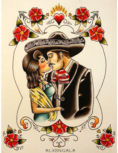 Mexican Couple on Behance