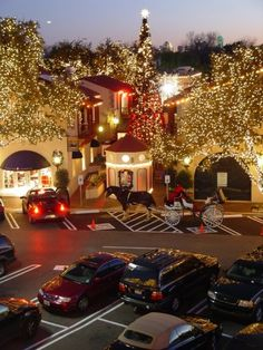 Holidays at Highland Park Village, the first self-contained shopping center in America was declared a National Historic Landmark in 2000.