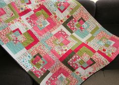 Farmdale Quilt - B by twinfibers, via Flickr