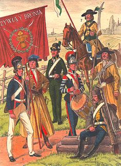 The Polish Army in 1789-1794 years.