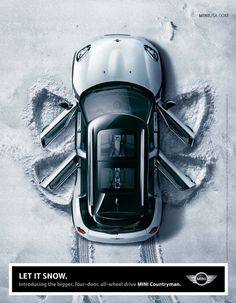 Mini Countryman Ad #mini #minicooper #minicountryman #ad #print