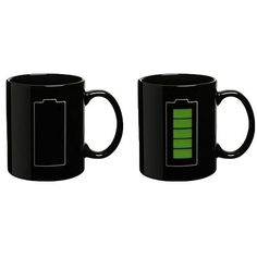 Battery Color Changing Thermometer Mug-GoAmiroo Store
