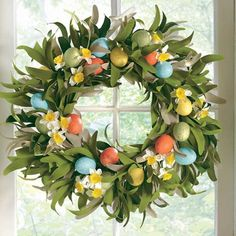 Find it at the Foundary - 18 in. Easter Egg Wreath