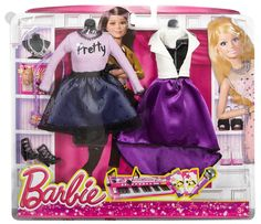 Shop for Barbie dolls and toys and find fab fashions, playsets and fashion dolls. Browse Barbie dolls and toys sparkling with pinktastic fun in the Barbie toys collection including dollhouses, Barbie& Dreamhouse, fashions and doll accessories. Barbie Sets, Barbie Dolls Diy, Barbie Fashionista Dolls, Doll Clothes Barbie, Barbie Skipper, Barbie Doll House, Barbie Outfits, Barbie Playsets, Barbie Doll Accessories