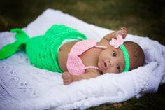 mermaid picture, baby girl photography, Lisa Karr Photography, Beloit Wisconsin, Find on Facebook,