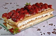 Delicious Deserts, Something Sweet, Flan, Tiramisu, Fondant, Waffles, Cheesecake, Sweets, Healthy Recipes