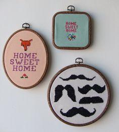 cross stitch loveliness