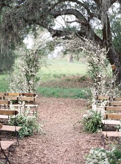Fairy Tale Wedding Ceremony with a Delicate Floral Arch