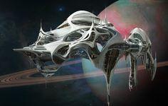 Cool spaceship!