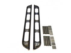 Looking to put rock sliders on your vehicle? Here is the solution, These Heavy Duty Universal Pre-welded rock slider kit! These sliders are constructed from 1026 DOM Tube, Laser Cut Gussets, Professionally MIG welded, and Ready for you to install on yo Rock Sliders, Land Cruiser, Toyota, Truck, Kit, Trucks