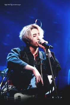 """ever since he told he wanted to be called Young K and not Brian every fucking time I see him I only think """"oh look it's Brian"""" lmao I'm so sorry Bri- Young K K Pop, Deadpool, Rapper, Park Jae Hyung, Hyun Young, Young K Day6, Wattpad, Korean Bands, Korean Music"""