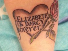 Pride and Prejudice tattoo