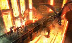 Futuro dragao fogo