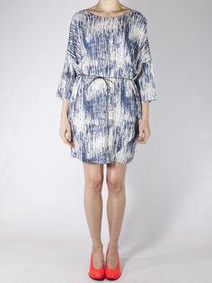 Won Hundred Stina Dress Nest Print