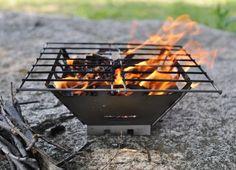 VARGO Titanium Fire Box Grill / バーゴ チタニウム ファイヤーボックスグリル - MoonlightGear - ムーンライトギア