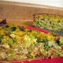 Quiche Recipes: Tofu Quiche with Broccoli