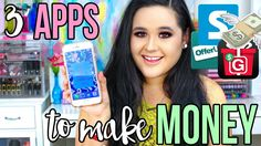 3 MUST HAVE APPS TO MAKE EASY MONEY THIS SUMMER! - WATCH VIDEO here -> http://makeextramoneyonline.org/3-must-have-apps-to-make-easy-money-this-summer/ -    how to make easy money  DOWNLOAD OFFERUP APP: ↓ OPEN FOR MORE INFO ↓ —————————————————— TWITTER   @ashtagmakeupluv INSTAGRAM   @ashtagmakeuplovee SNAPCHAT   @ashtagsnaps → MY BLOG WEBSITE: → MY VLOG CHANNEL: ————&#8212...