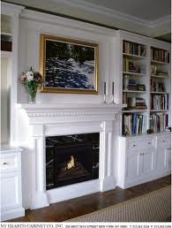 Fireplace ideas no hearth and no tile or stone around it