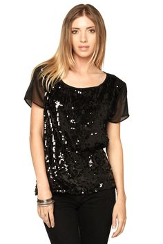 Shoptiques — In Love Sequin Top