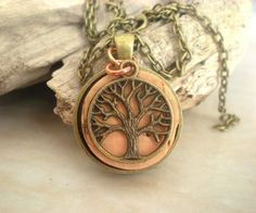 Cork Necklace Tree of Life