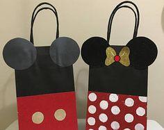 Bolsas fiestas Mickey y Minnie Mouse cumpleaños