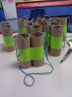 Elementary Art Project - Exploring Binoculars Could play some type of I Spy game with colors.