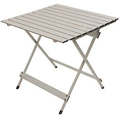 "Genius Model X Aluminum Lightweight Table. Best Value for FOLDING 28x28"" table or center separation table. NOT roll up."