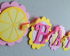 Pink Lemonade Party. Ships in 1-3 business by ConfettiMommaParty