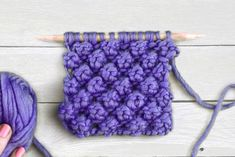 Some People Excel At KNITTING IDEAS And Some Don't - Which One Are You? Knitting Videos, Knitting Charts, Knitting For Beginners, Knitting Stitches, Knitting Projects, Knitting Patterns, Crochet Patterns, Stitch Crochet, Bobble Stitch