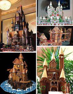 unique gingerbread houses